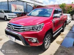 Toyota/Hilux CD SRX A4FD Diesel auto., 2017, único dono