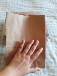 100 sacos papel kraft