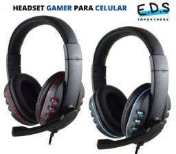 Fone de Ouvido Headset para Celular Com Microfone