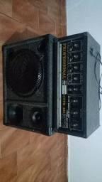 Amplificador e caixa