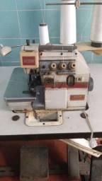 Máquina overclock e máquina de cortar tecido