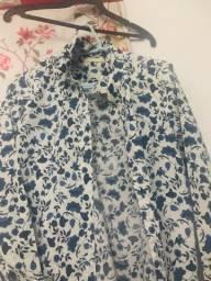 Camisa estampada feminina