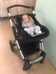 Carrinho Moisés + bebê conforto