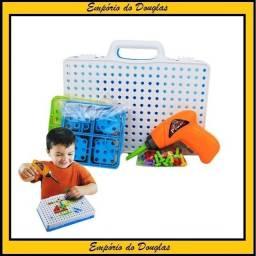 Brinquedo de Montar com Parafusadeira 24cm (Entrega Imediata!!!)