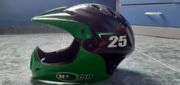 Vendo capacete para bike