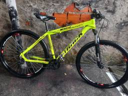 Vendo bicicleta aro 29 semi nova de alumínio track 1300 reais