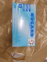 2 pacote de caixa de luvas tamanho g por 100 reais
