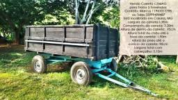 Cemag Carreta Agrícola para Trator 5 Toneladas 4 Rodas