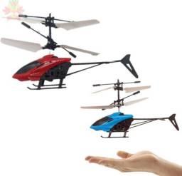 Helicóptero de controle por indução voa, recarregável