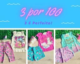 Kits infantis Feminino - linha Premium