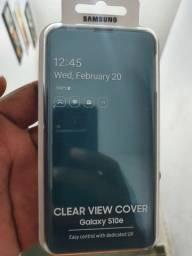 Capa S10e  Clear Wiew S10e Samsung Original