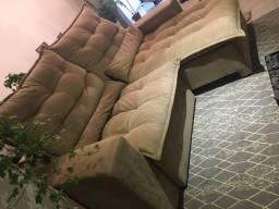 Sofa Retratil Inovar menos de 1 ano de uso