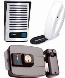 Interfone e Fechadura Eletronica