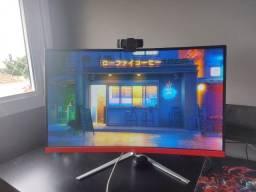 """Monitor Concordia 27"""" Curvo 60Hz para vender rápido"""