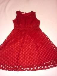 Título do anúncio: Vestido vermelho tamanho g
