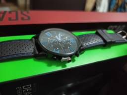 Relógio De Pulso Quartzo Analógico De Luxo Em Aço Inoxidável
