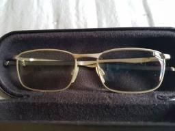 Armação / Oculos Metal / Prata Oakley