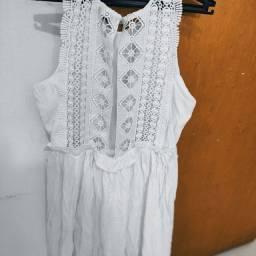 Vestido branco desapego Tam 40