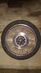 Roda Dianteira com freio a disco Honda 125 /2007