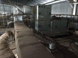 Sistema de ar classe 10,000 para produção de injetáveis