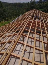 Construção civil casa e telhado etc..