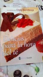 Livro de receitas bolos e tortas doces