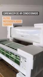carenagem de ar condicionado