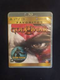 Vendo jogo PS3 god of war original