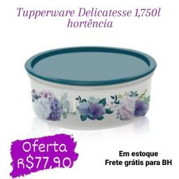 Tigela Tupperware Delicatesse 1,750L - Hortência