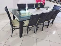 Mesa com 10 Cadeiras!!!