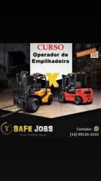 CURSO DE OP.EMPILHADEIRA