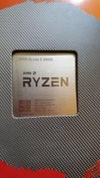 Processador AMD Ryzen 5 3400G, cache 6MB, 3.7GHz (4.2GHz Max turbo).
