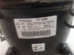 COMPRESSOR EMBRACO NOVO 350,00