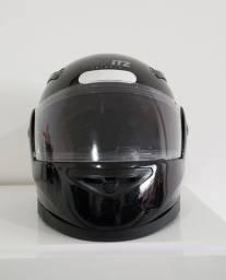 Capacete Moto Taurus Zarref V4 Classic Preto Tamanho 58