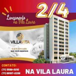 Oportunidade - Vila Vita Residencial, 2 quartos 53m² com varanda