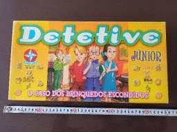 Jogo de tabuleiro - detetive JR