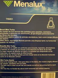 Bocal Aspirador Mini Turbo Menalux