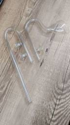 Descida e Retorno P/ Canister Lily Pipe Glass