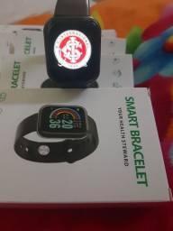 Novo smartwatch y68 coloca foto na tela aceito atacado