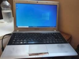 Notebook Samsung i3 SSD + HD só funciona wifi