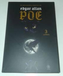 Box com 3 Livros de Edgar Allan Poe