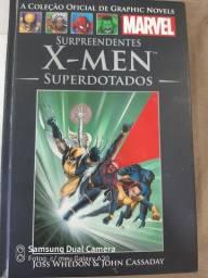 Livro do x-men superdotados