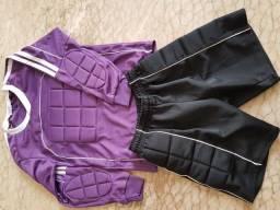 uniforme de goleiro infantil