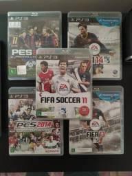 Fifa 2011 /13 / 14 e PES 2014 / 17