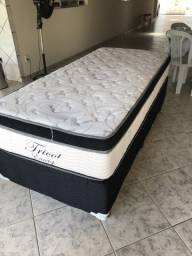 Cama Box fricot eurotop Unix face