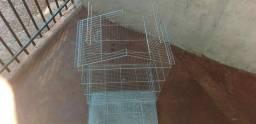 Gaiola galvanizada para pássaros ou outros animais