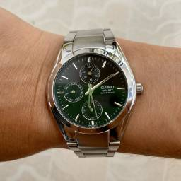Relógio Casio Prata 1794 mtp 1191