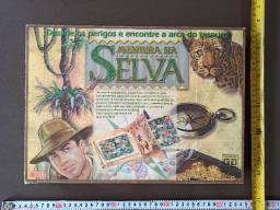 Jogo de tabuleiro - aventura na selva