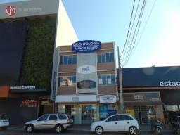 Apartamento com 2 dormitórios para alugar, 80 m² por R$ 1.500/mês - Centro - Cascavel/PR
