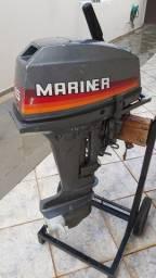 Motor popa Mariner 15 japonês